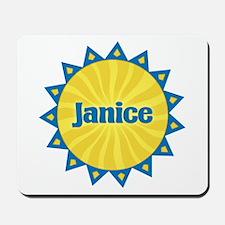 Janice Sunburst Mousepad