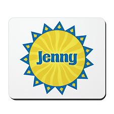 Jenny Sunburst Mousepad