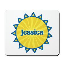 Jessica Sunburst Mousepad