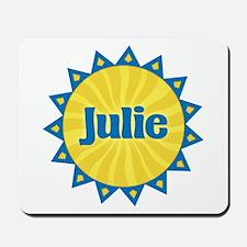 Julie Sunburst Mousepad
