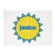 Janice Sunburst 5'x7' Area Rug