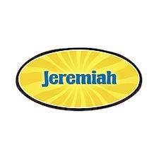 Jeremiah Sunburst Patch