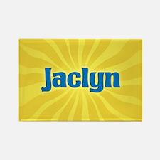 Jaclyn Sunburst Rectangle Magnet