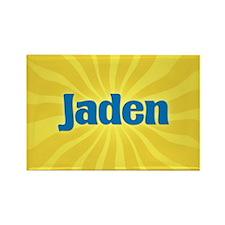 Jaden Sunburst Rectangle Magnet
