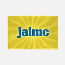 Jaime Sunburst Rectangle Magnet