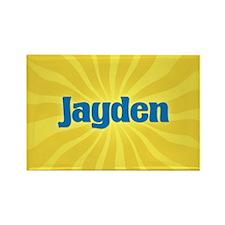 Jayden Sunburst Rectangle Magnet
