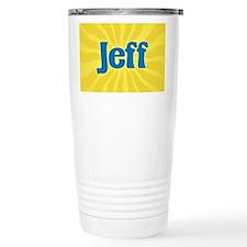Jeff Sunburst Travel Mug