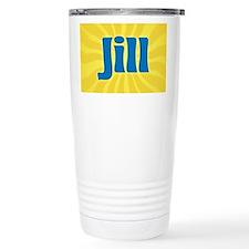 Jill Sunburst Travel Mug