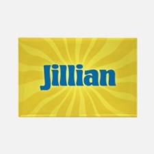 Jillian Sunburst Rectangle Magnet