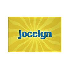 Jocelyn Sunburst Rectangle Magnet