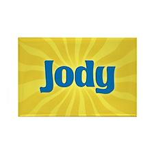 Jody Sunburst Rectangle Magnet