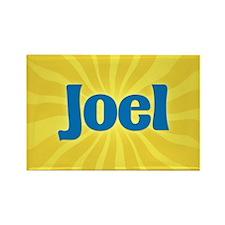 Joel Sunburst Rectangle Magnet