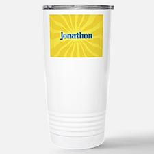 Jonathon Sunburst Stainless Steel Travel Mug