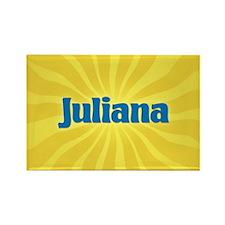 Juliana Sunburst Rectangle Magnet