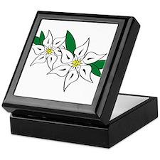 Edelweiss Keepsake Box