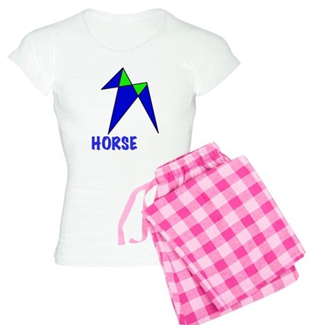 HORSE, abstract, gifts Women's Light Pajamas