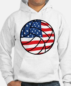 US Flag Volleyball Hoodie