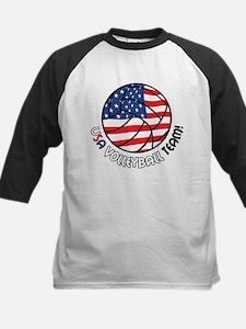 USA Volleyball Team Kids Baseball Jersey