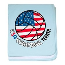 USA Volleyball Team baby blanket