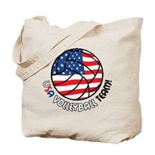 USA Volleyball Team Tote Bag
