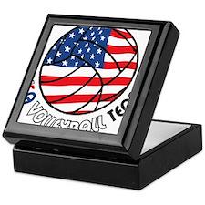 USA Volleyball Team Keepsake Box