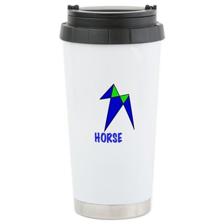 HORSE, abstract, gifts Stainless Steel Travel Mug