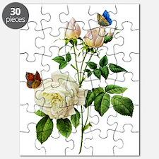 Pierre-Joseph Redoute Rose Puzzle