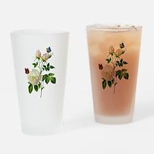 Pierre-Joseph Redoute Rose Drinking Glass