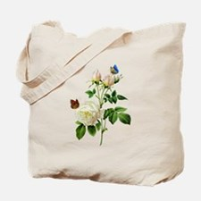 Pierre-Joseph Redoute Rose Tote Bag