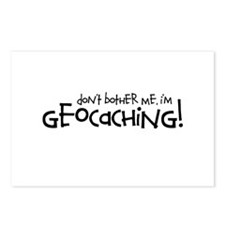 Dont Bother Me, Im Geocaching Postcards (Package o