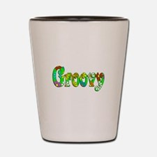 Groovy Shot Glass