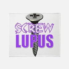 Screw Lupus.png Throw Blanket