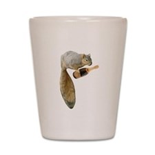 Squirrel Champagne Shot Glass