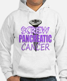 Screw Pancreatic Cancer Hoodie