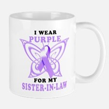 I Wear Purple for my Sister in Law.png Mug
