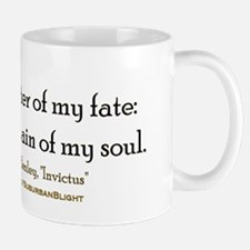 """Master Of My Fate"" Mug"