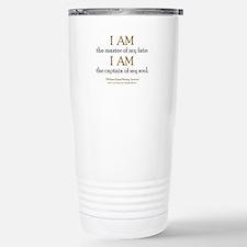 """Master Of My Fate"" Travel Mug"