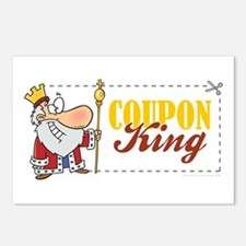COUPON KING Postcards (Package of 8)
