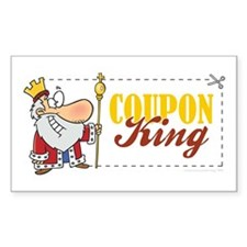 COUPON KING Decal