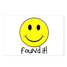 Found It Smiley! Postcards (Package of 8)