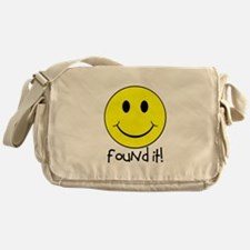 Found It Smiley! Messenger Bag