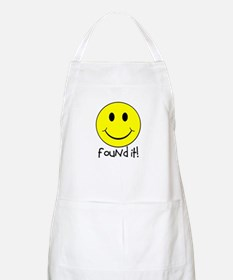 Found It Smiley! Apron