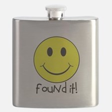 Found It Smiley! Flask