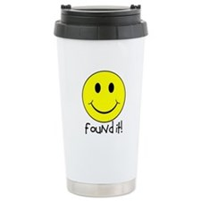 Found It Smiley! Travel Mug