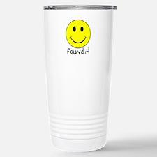 Found It Smiley! Travel Mug