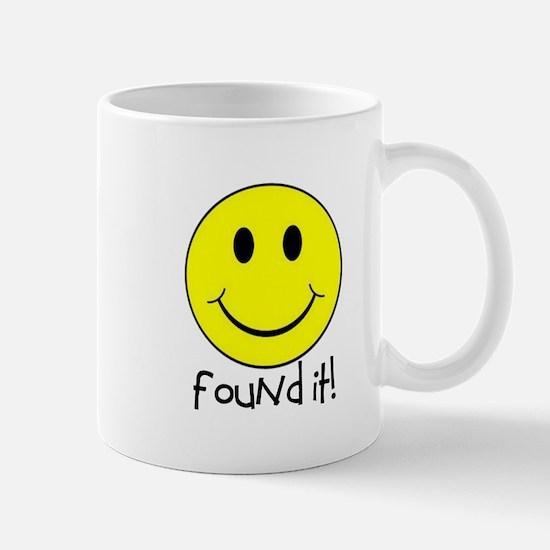 Found It Smiley! Mug