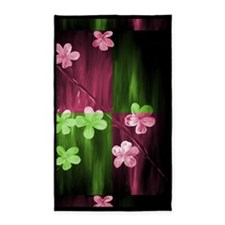 Modern Abstract Floral by Mark Moore3'x5' Area Rug