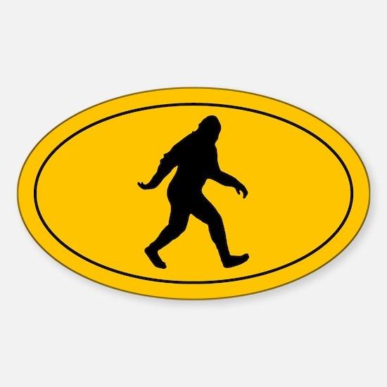 Bigfoot Sticker (Oval)