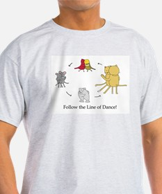 Follow the Line of Dance! T-Shirt