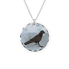 Raven Charm Necklace